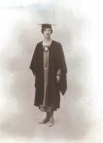 Ethel Hodgson's Graduation Photo